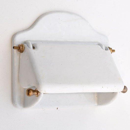 XA02 WC rolhouder ijzer geëmailleerd Verkocht – Alta Design – vintage store # Jysk Wc Rolhouder_081306