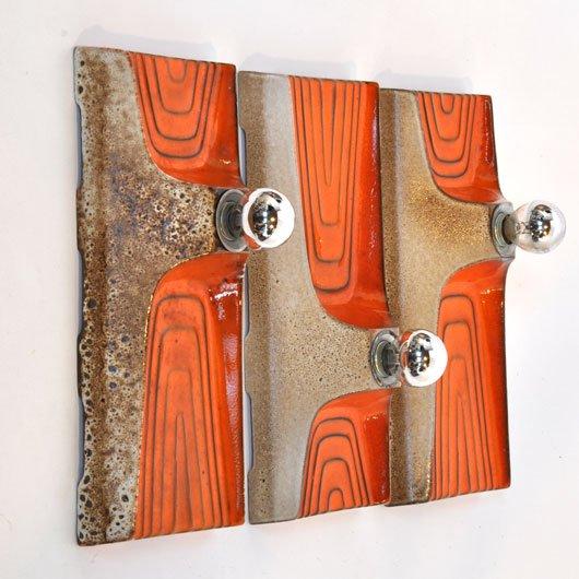 wm19 wandlampen 70 ties alta design vintage store tilburg. Black Bedroom Furniture Sets. Home Design Ideas