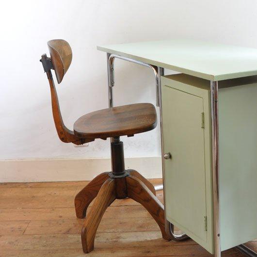 Design Jaren 30.Wf07 Bureaustoel Jaren 30 Verkocht Alta Design Vintage Store