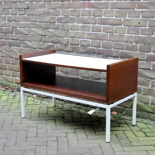 Vb46 laag bijzet tafel tv kast alta design vintage store tilburg - Tafel tv vintage ...