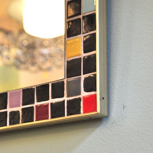 Tm47 wand spiegel jaren 60 optie alta design vintage for Spiegel 5 2018