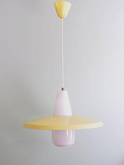 WE01-Philips lamp jaren 50-60 VERKOCHT