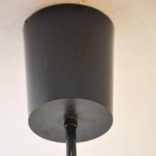 VB02 - Oranje hanglamp seventies VERKOCHT