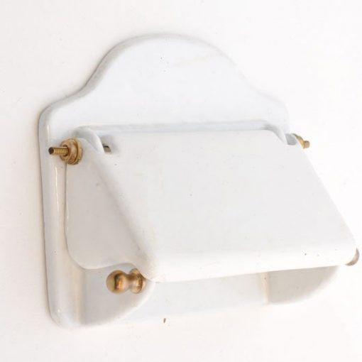 XA02. WC rolhouder- ijzer geëmailleerd Verkocht