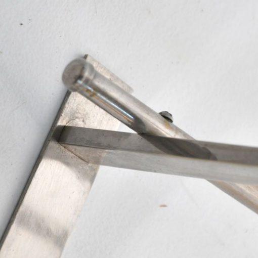 VB07 - Art Deco kapstok vernikkeld VERKOCHT