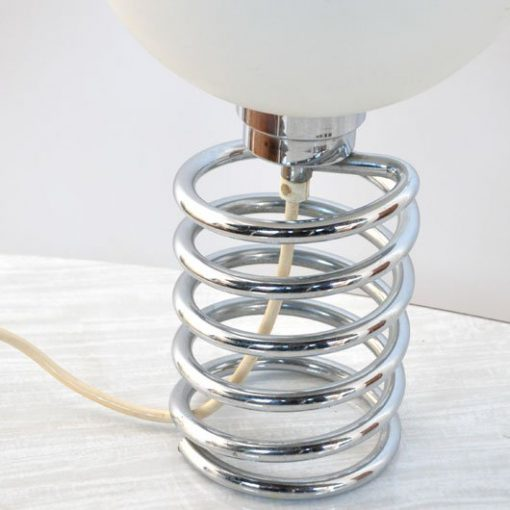TM10- Spiraal tafellamp jaren 60- Spring Ingo Maurer