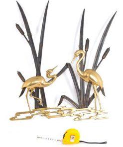 TE10 - Mid Century Modern Ibis Birds VERKOCHT