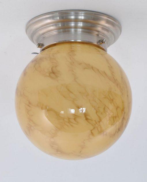 XA11- Marmer glas, jaren 30 VERKOCHT