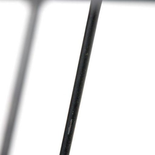 VB12- Jaren 50 bijzettafel op wieltjes