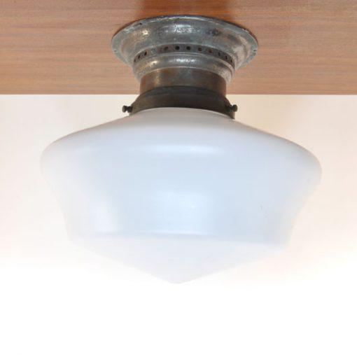 WB12- Art Deco- opaal glas- VERKOCHT