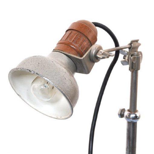 WC14- industrieel tafellampje 50's