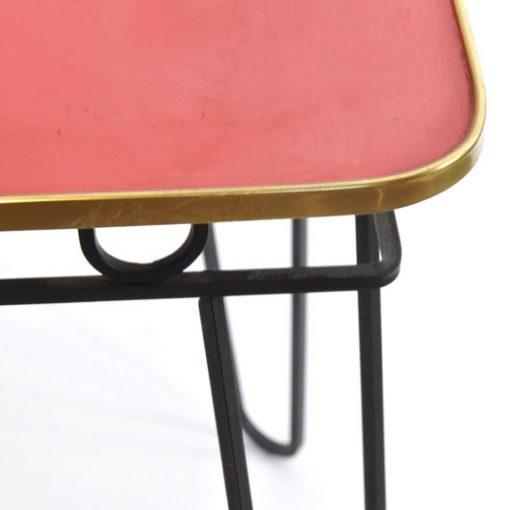 WB18-Bijzet tafeltje jaren 50 VERKOCHT