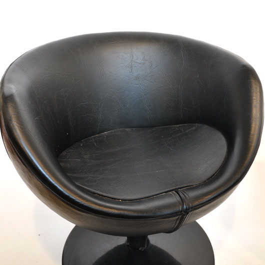 WH19- Pierre Guariche Luna ballchair