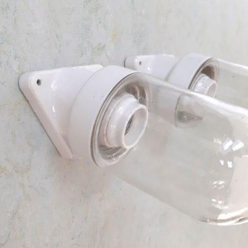 RM18 - Porseleinen wandlampen 1950 - Keramiek -p/p/s
