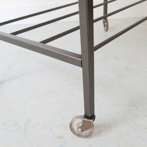 RH21 - Palissander trolley met metaal - Pastoe
