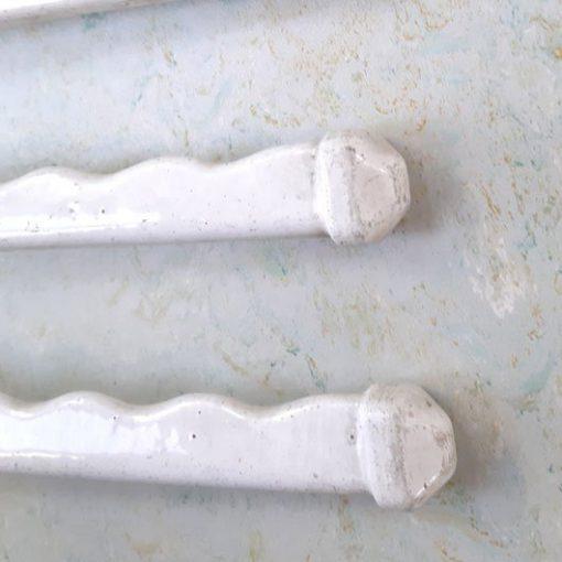 RN23 - Emaillen - Handdoekenrek - jaren 20