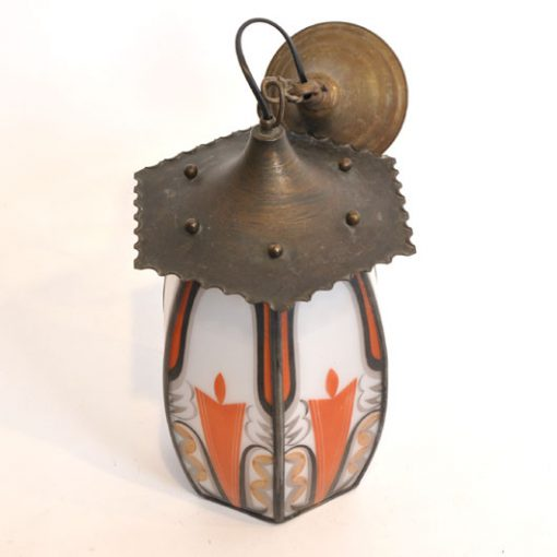 WM24 - Amsterdamse School Lamp - 1920 VERKOCHT