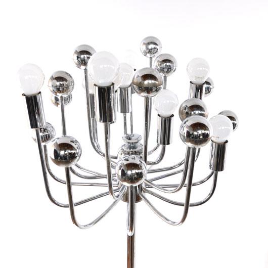 VL25- Staande Sputnik lamp - VERKOCHT