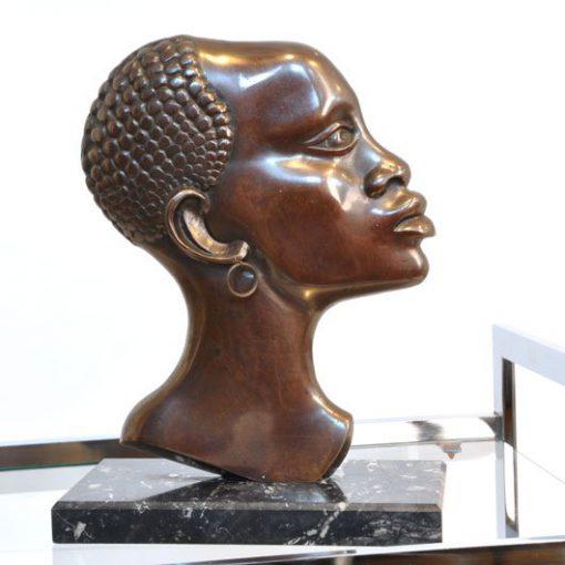 WM26 - Afrikaans hoofd brons VERKOCHT