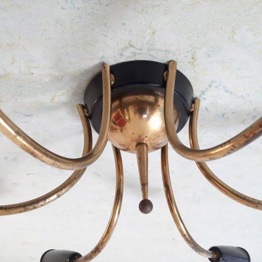 RH26 - Jaren 50 sprietlamp - Sputnik -Spoetnik -kroonluchter jaren 50