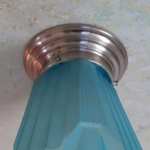 RH27 - Art Deco - Blauwglas