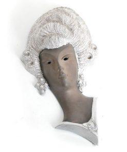 WD27- Keramieken Masker 1960