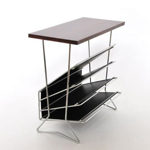 TL27- Bijzet tafel - Lectuurhouder- jaren 60