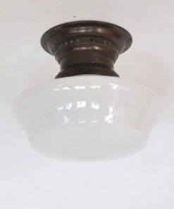 VA27- Art Deco- opaal glas VERKOCHT