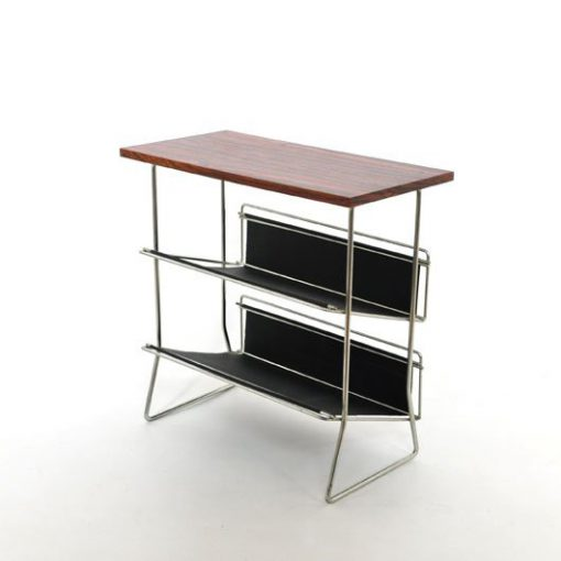 TL28- Bijzet tafel - Lectuurhouder- jaren 60 VERKOCHT