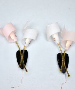 WC28- Wandlampen jaren 50 VERKOCHT