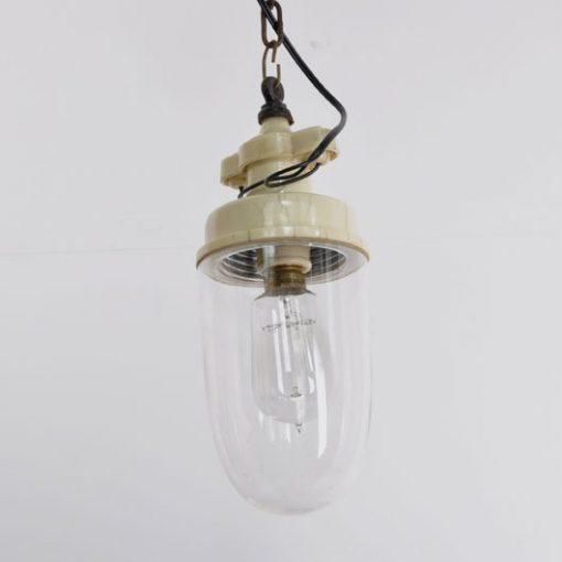 WH29. Steen Glazen Stallamp