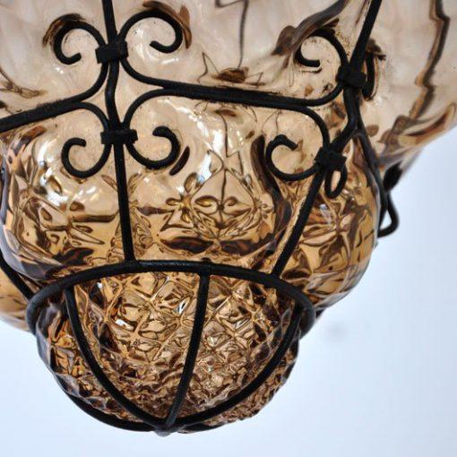TE30- Murano lamp jaren 40/50 VERKOCHT