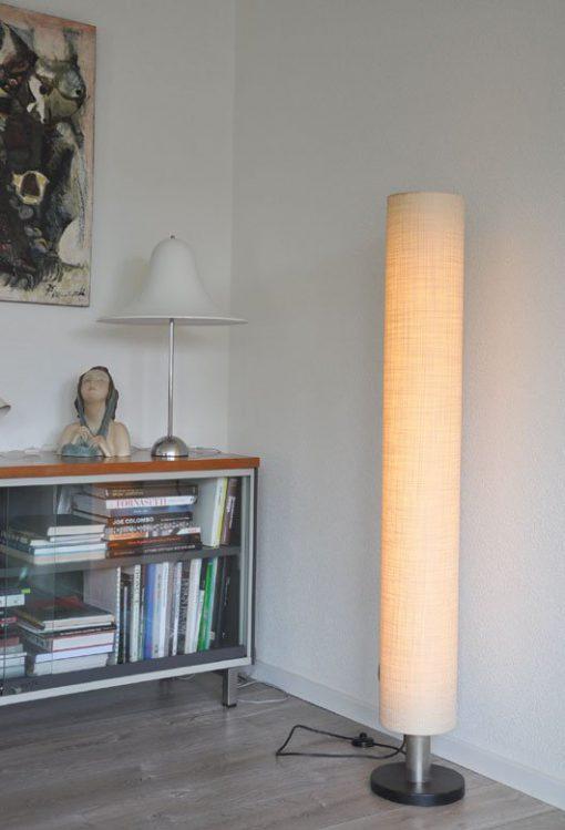 WD32- Staande lamp met TL verlichting, jaren 60