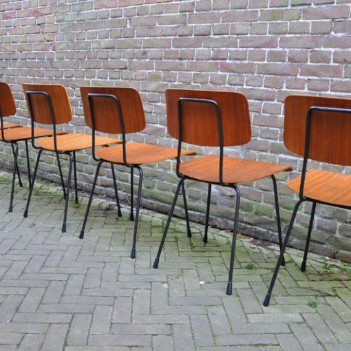 WB33- Gispen stoelen 1262