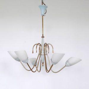 SH33 - Hanglamp jaren 50 - Spriet - Spiderlamp