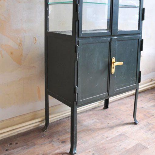 TL34. Vintage Metalen Ziekenhuiskast VERKOCHT