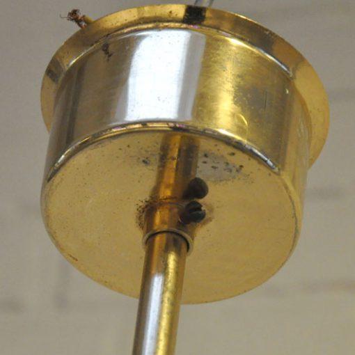 WN35- Val St. Lambert -Spoetnik- lamp VERKOCHT