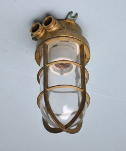 WC36- Industriële kooilamp VERKOCHT
