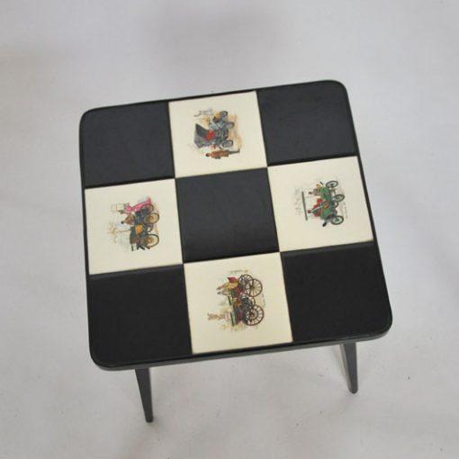 VH37- Bijzet tafeltje -salontafeltje 1960