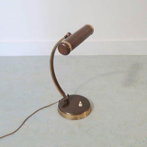 RH38 - Pianolamp - messing - 1930-1950