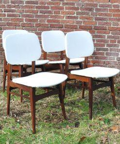 SL38 -Jaren 50 stoeltjes - eetkamer stoelen - VERKOCHT