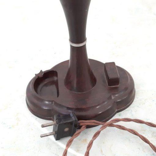 RN39 - Bakelieten Tafellamp Art Deco - VERKOCHT