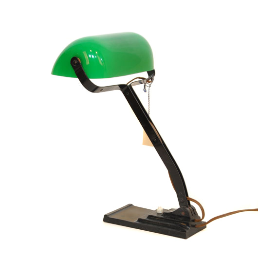 VM39- ERPE Bankierslamp Notarislamp VERKOCHT