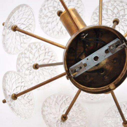 VC39- Emil Stejnar sputnik spoetnik wandlamp VERKOCHT