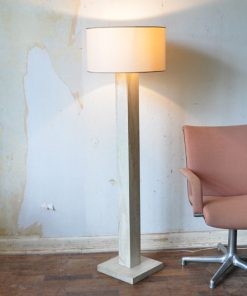 VF40 - Marble standing lamp 80's