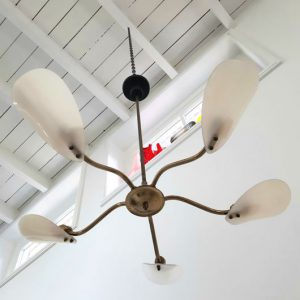 RK40 - Jaren 50 hanglamp - Sprietlamp