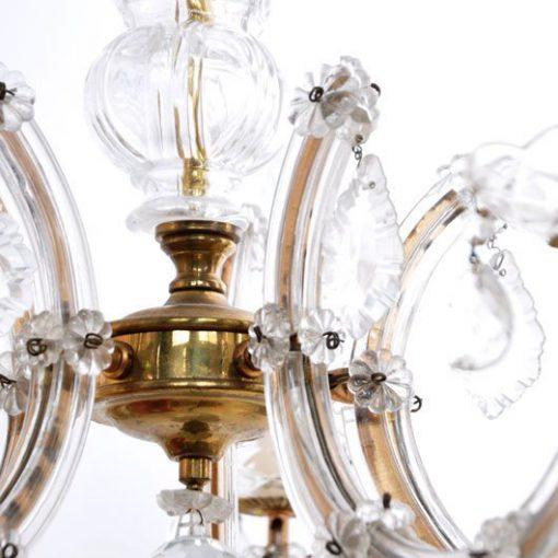 VD41-Kroonluchter- Marie Therese lamp VERKOCHT