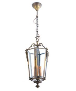 VC41- Antieke Lamp Messing