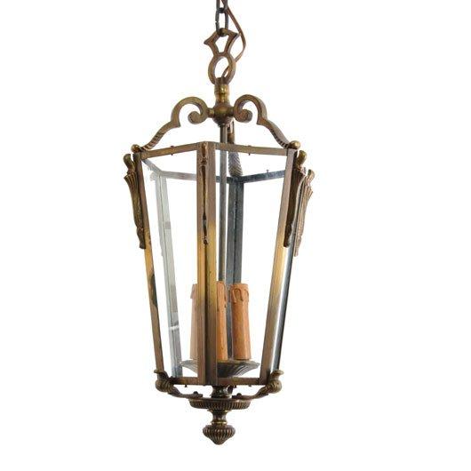 VC41- Antieke Lamp Messing
