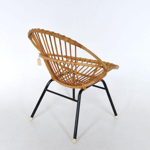 TL41. Rotan stoel - jaren 50 VERKOCHT